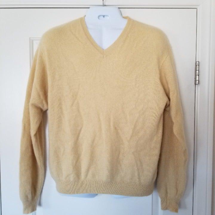 Mens 100% Cashmere Sweater- John Ashford