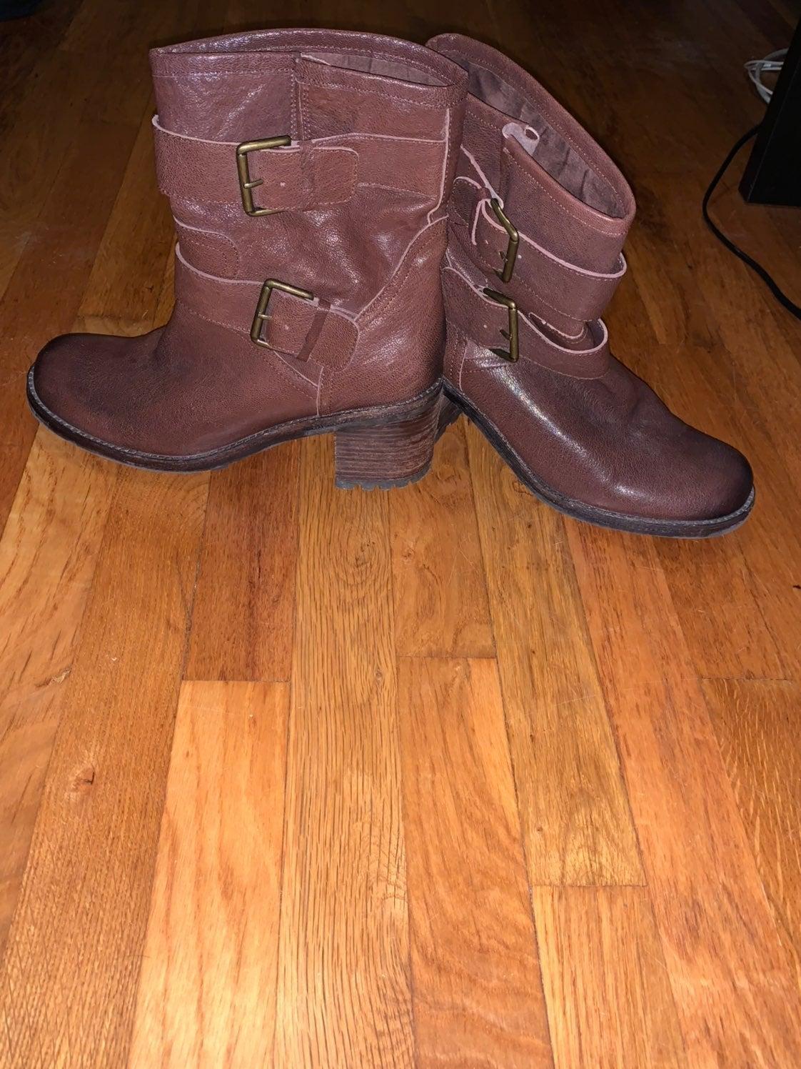 Sam Edelman heeled boots size 9.5