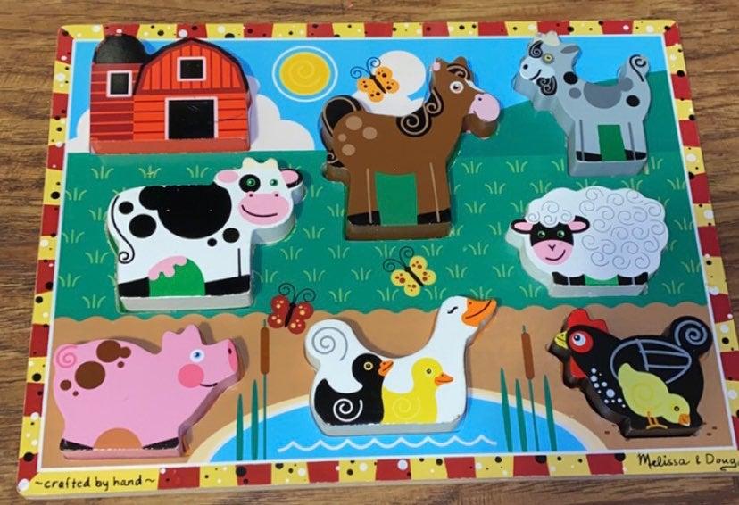 10 animal puzzles