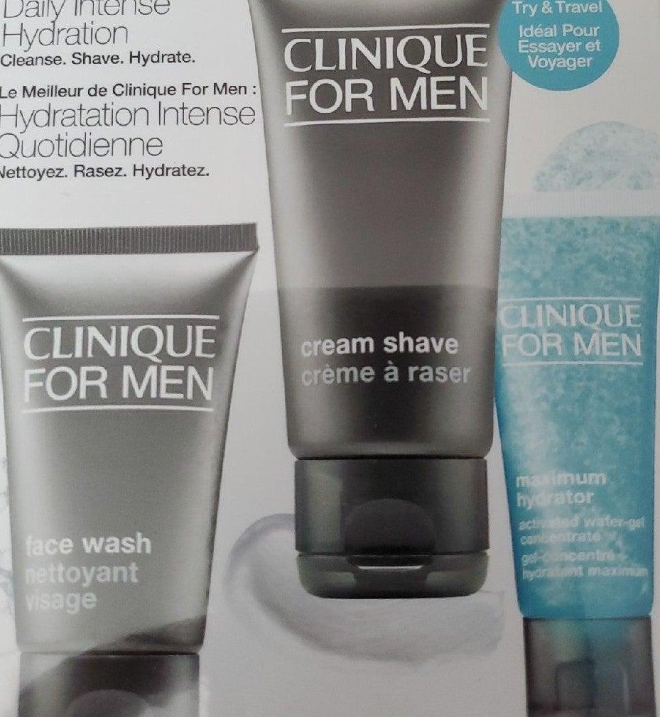 Clinique For Men Facial Shave Set