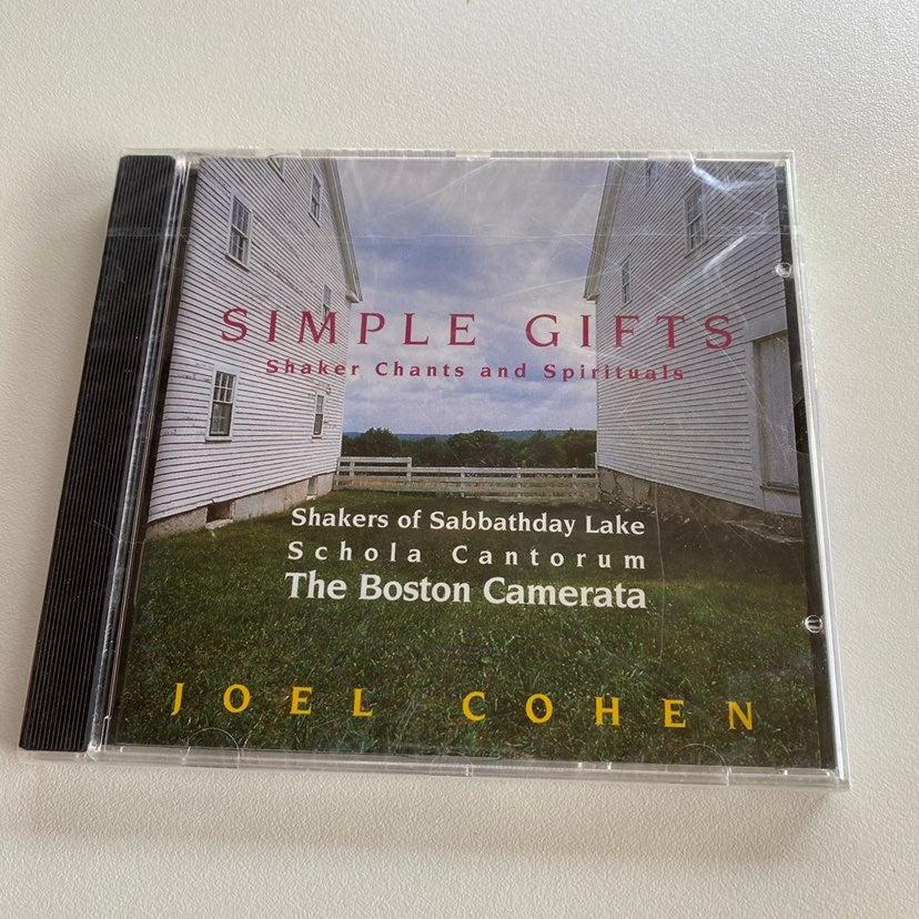 JOEL COHEN - SIMPLE GIFTS MUSIC CD SHAKE