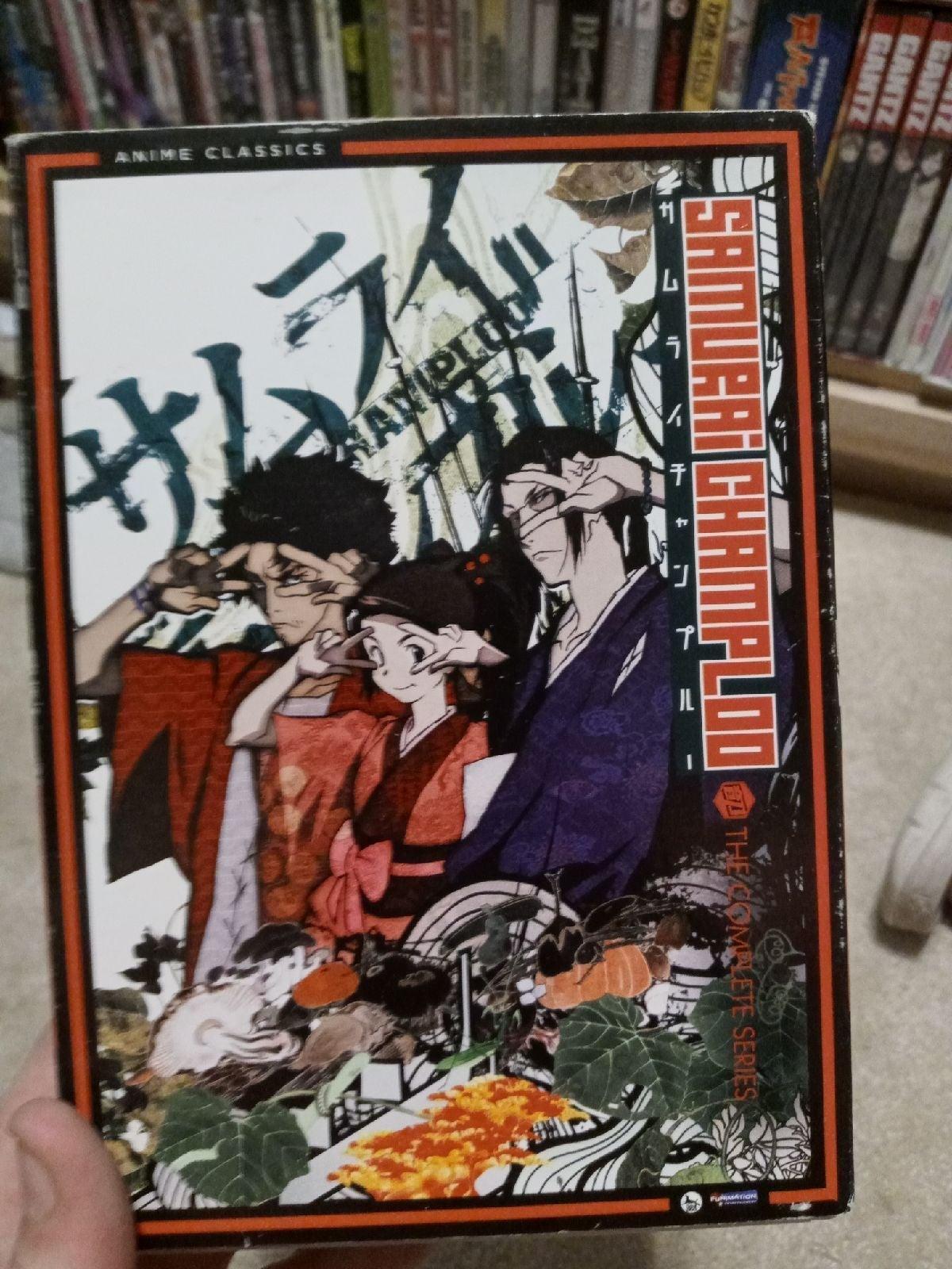 Samurai Champloo Complete Anime DVD Set