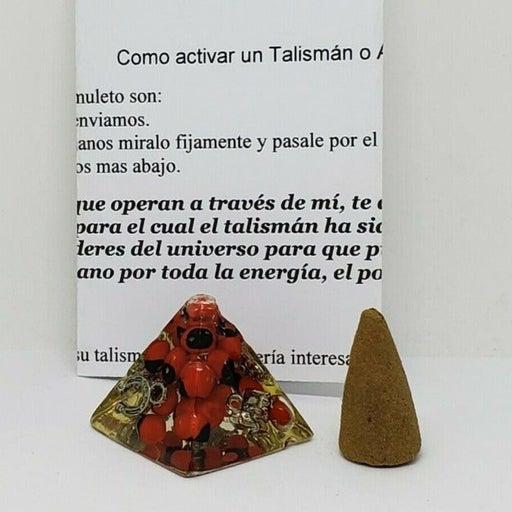 """AMULETO PIRAMIDE 1"""" PARA DINERO/SUERTE"""