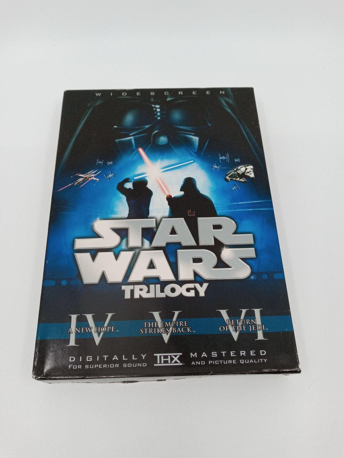 Star Wars Trilogy DVD 2008 6-Disc Box