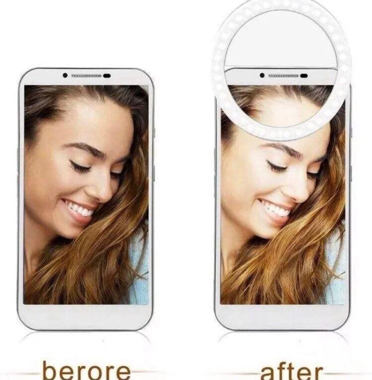 New Portable Selfie LED Light Ring