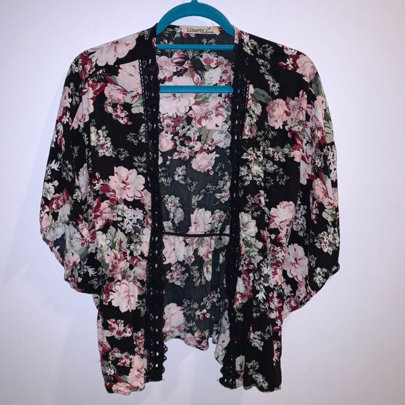 Liberty life kimono cardi