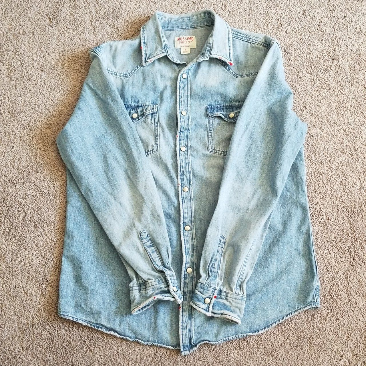 Mossimo light blue denim jacket