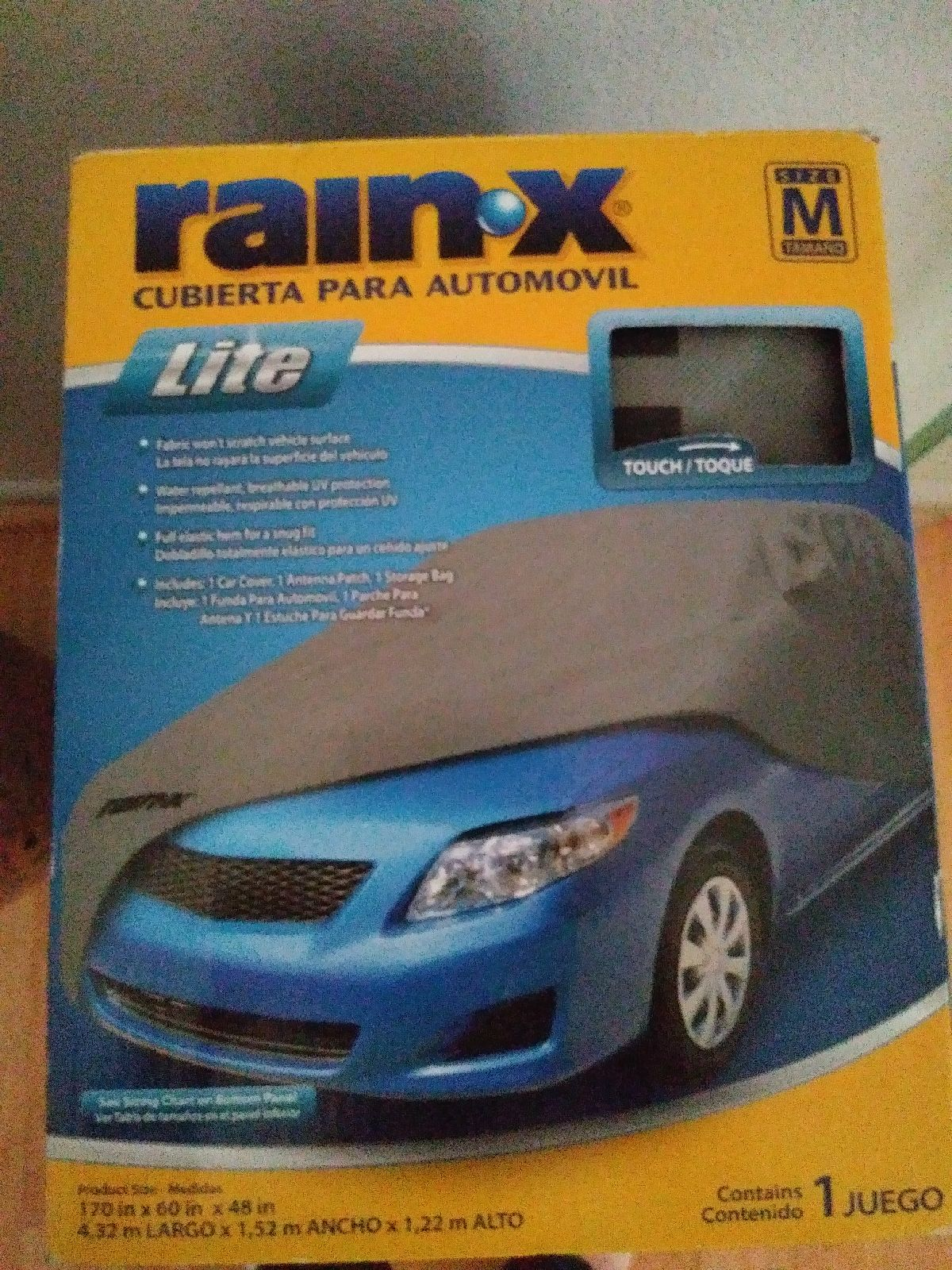 Rain.x Car Cover size medium
