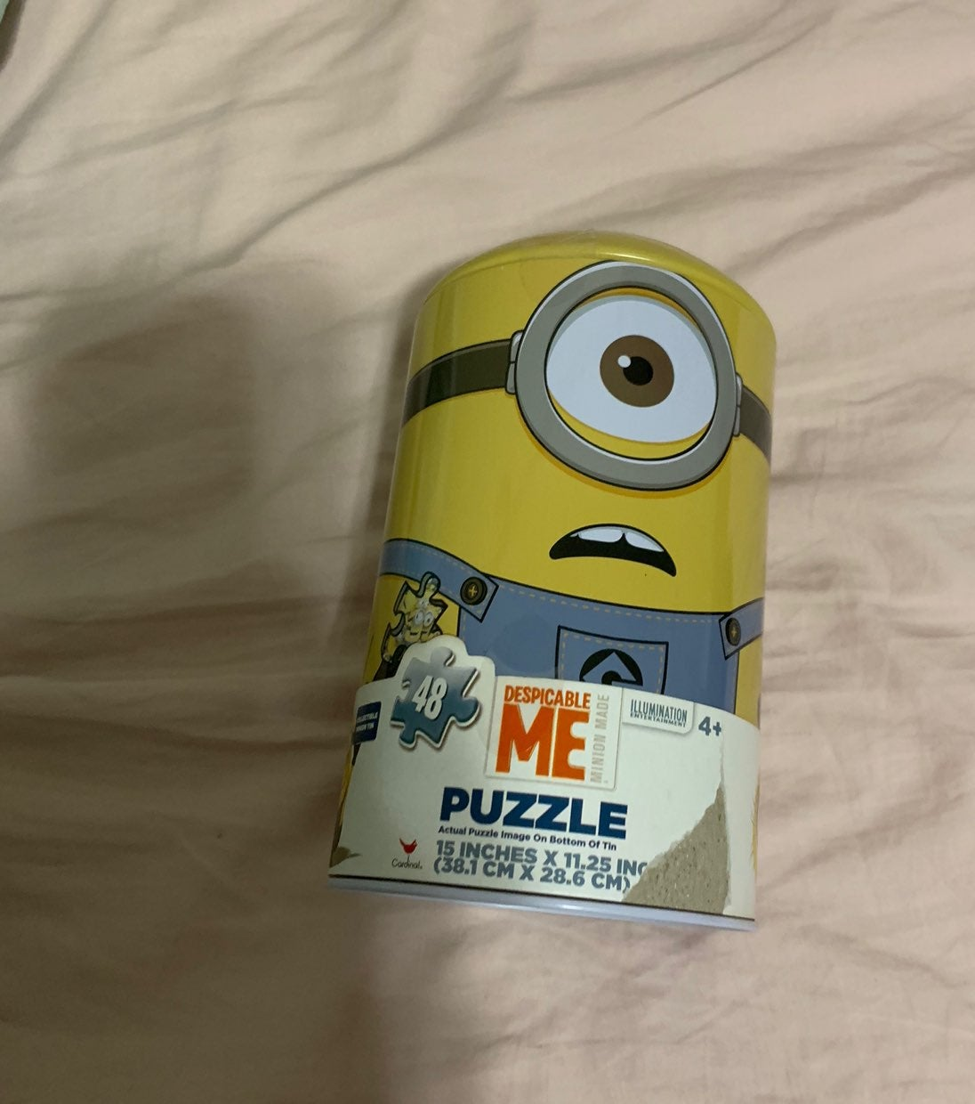 Despicable me 48 piece minion puzzle