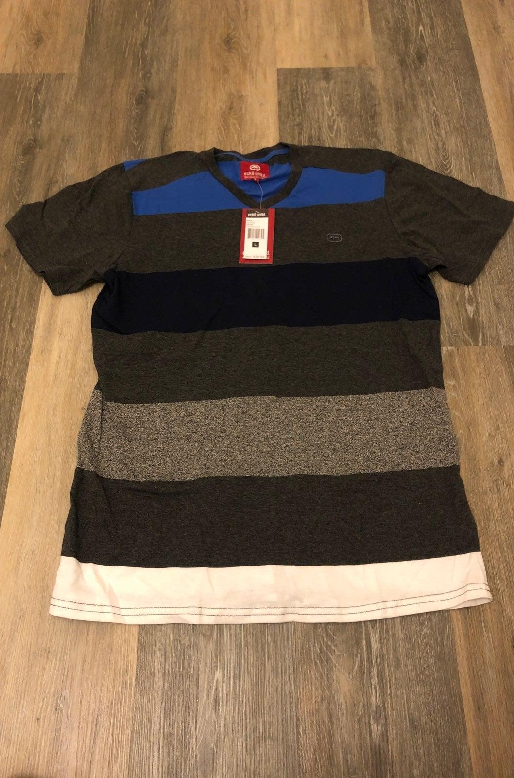 Ecko blue and gray tshirt