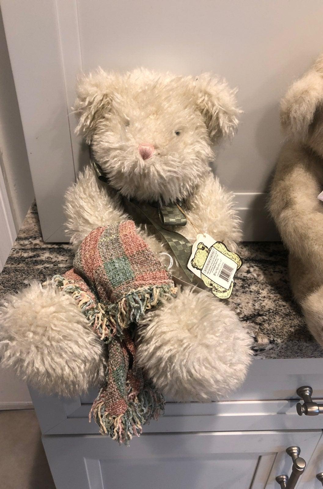 Boyd bear named Snooze