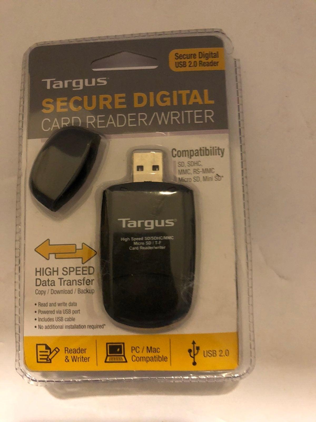 Targus Secure digital 2.0 card reader US