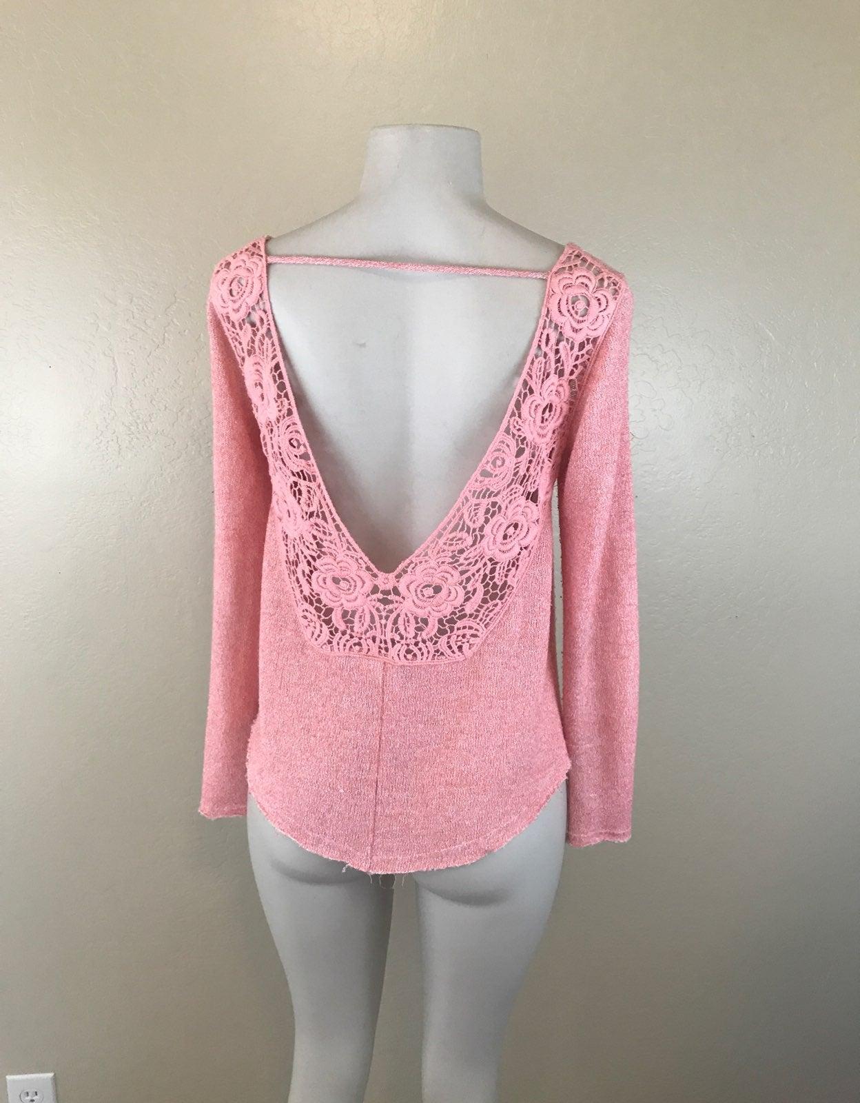 Buckle Daytrip Pink Crochet S