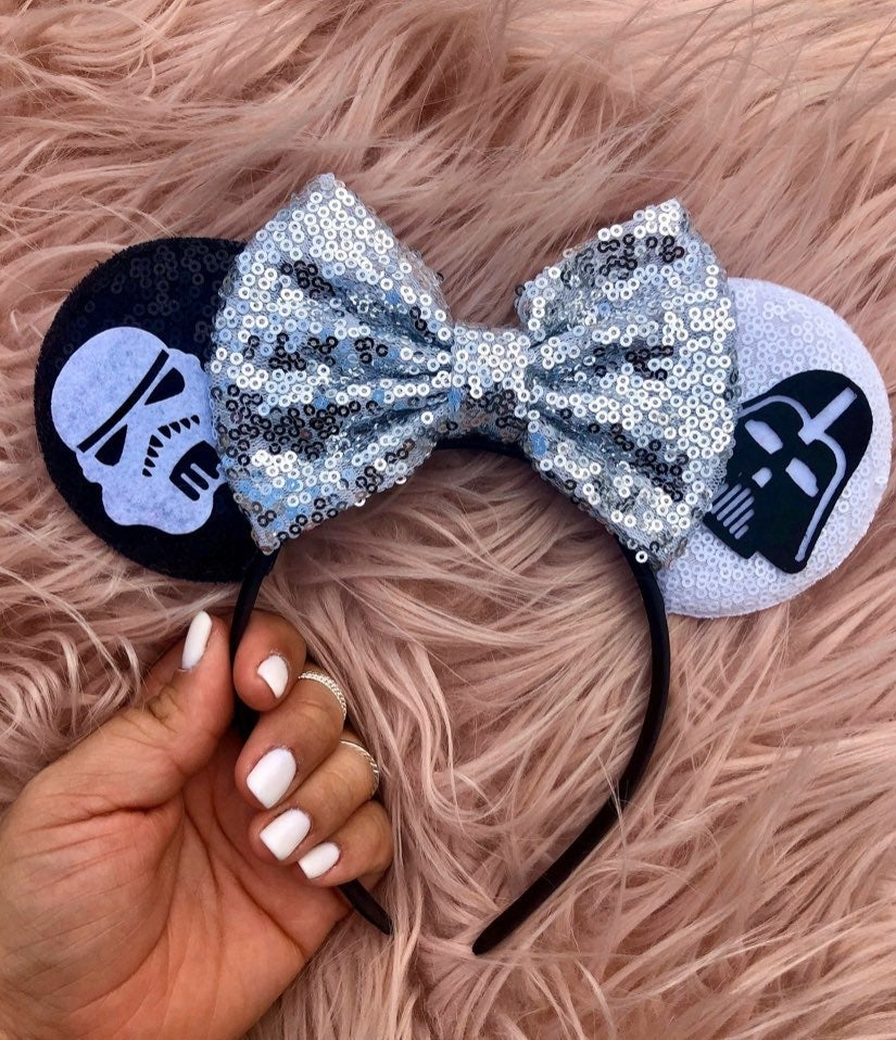 Minnie Mouse Star Wars Ears Darth Vader