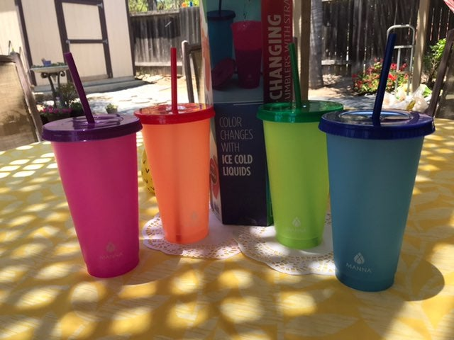 Color changing cups/tumblers set