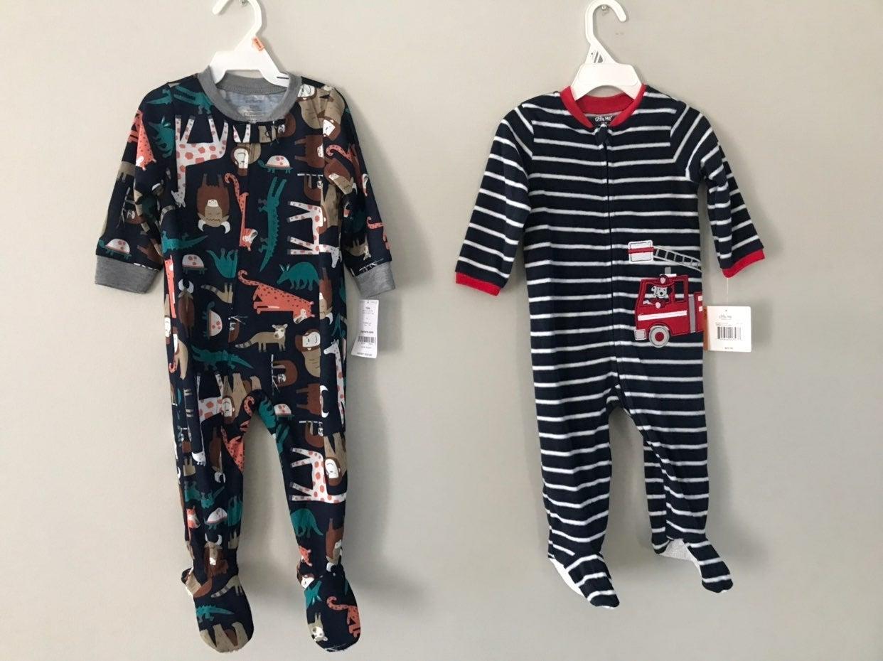 12m footie pajamas
