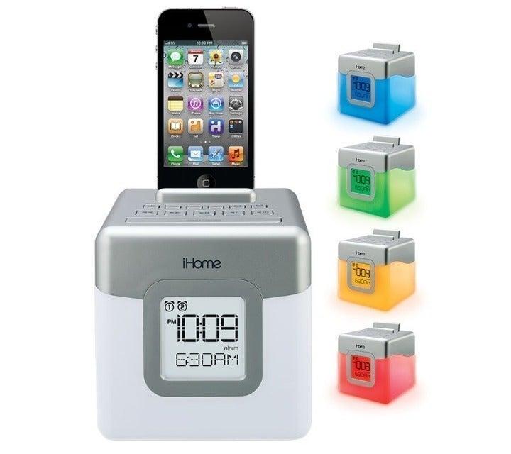 iHome Glow Tunes Speaker/Alarm/Charging