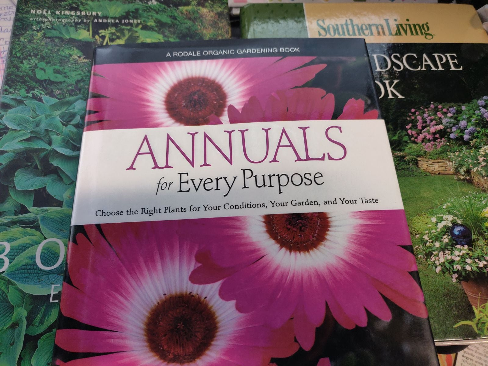 Plants/landscaping books