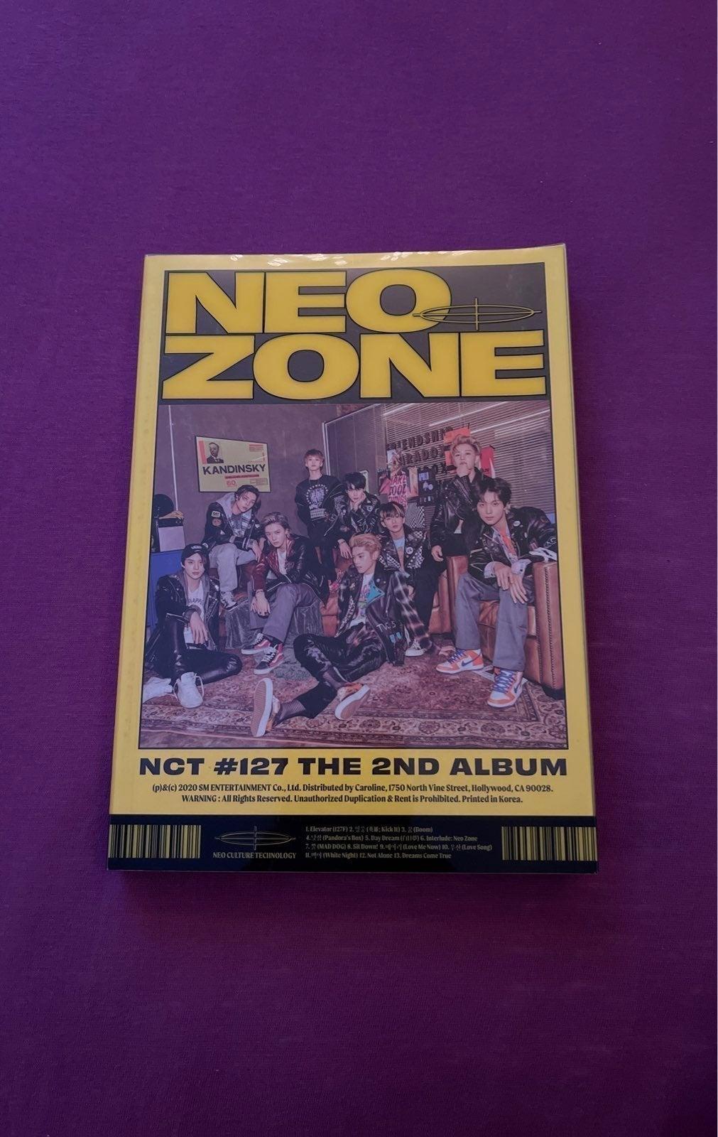 NCT 127 - NEO ZONE ALBUM