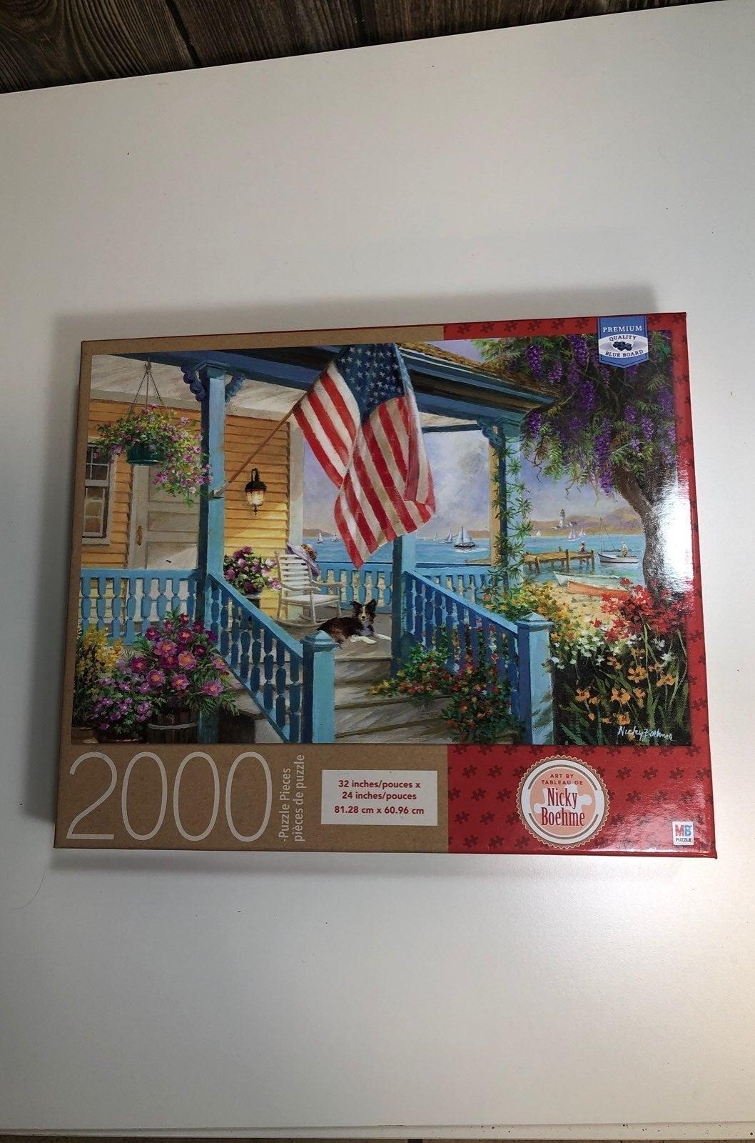 2000 piece puzzle - (Nicky Boehme)