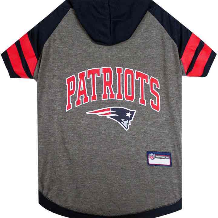 New England Patriots NFL Dog Hoodie S