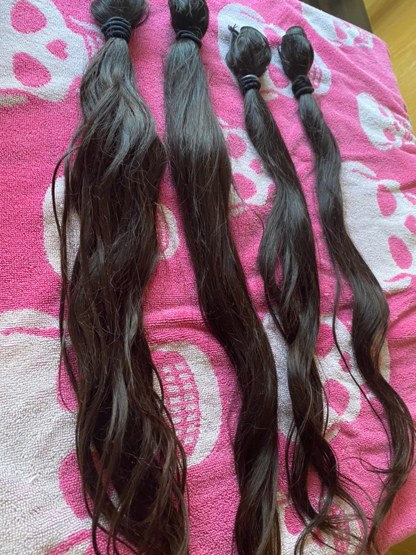 100% Virgin Brazilian Human hair bundles