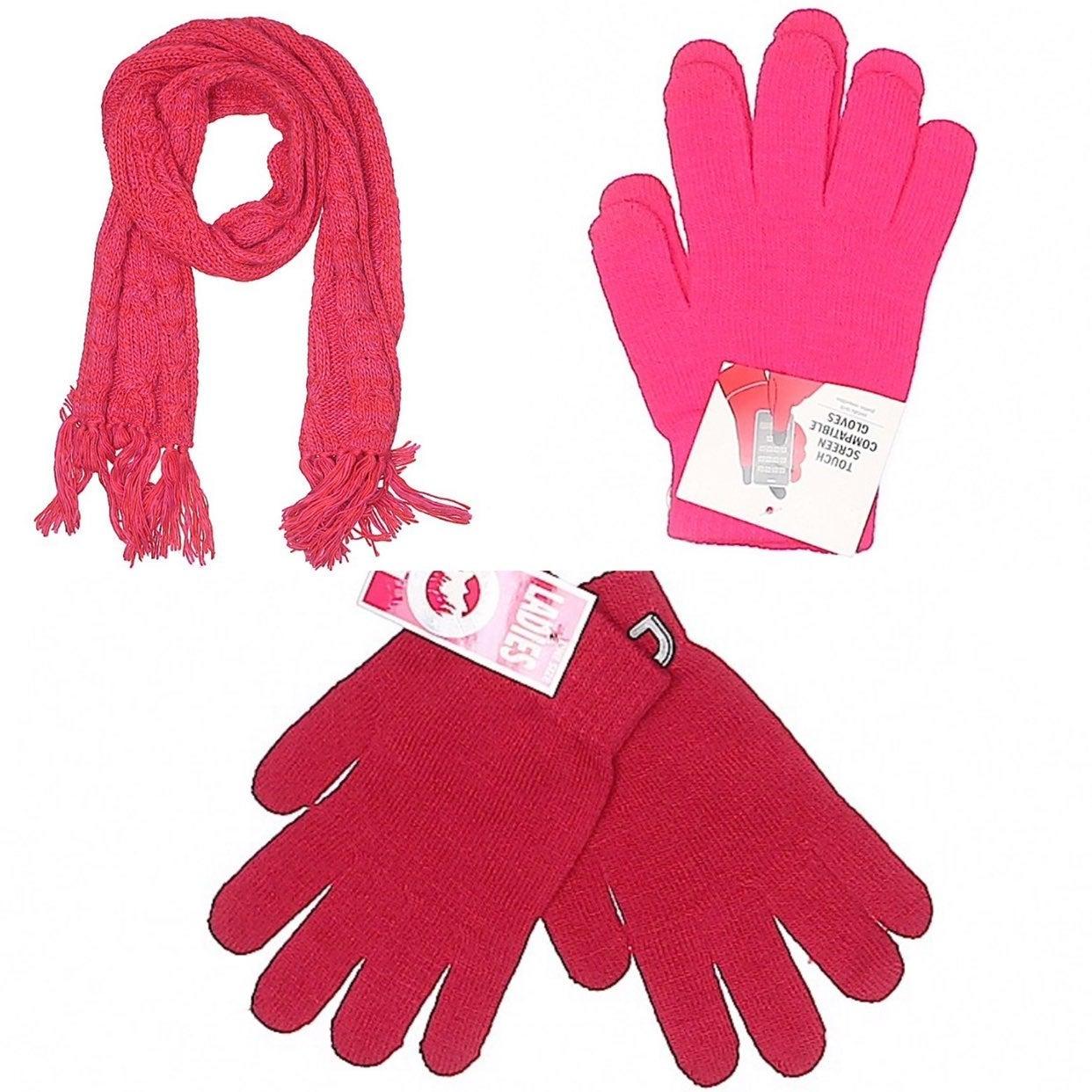 Gloves & Scarf Bundle
