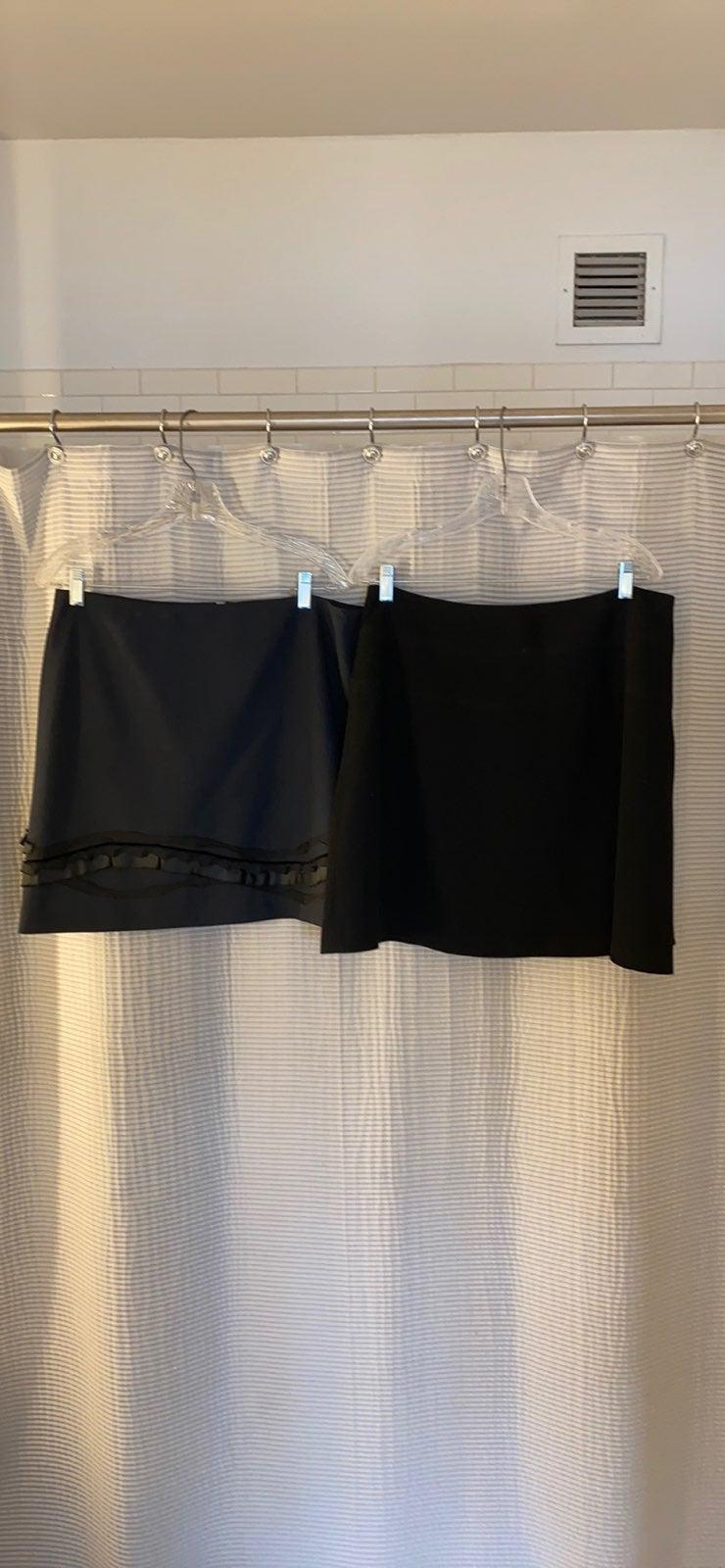 (2) Tahari Miniskirts Size 14P