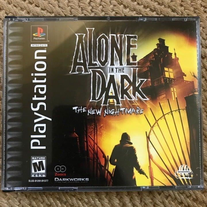 Alone in the Dark: The New Nightmare PS1