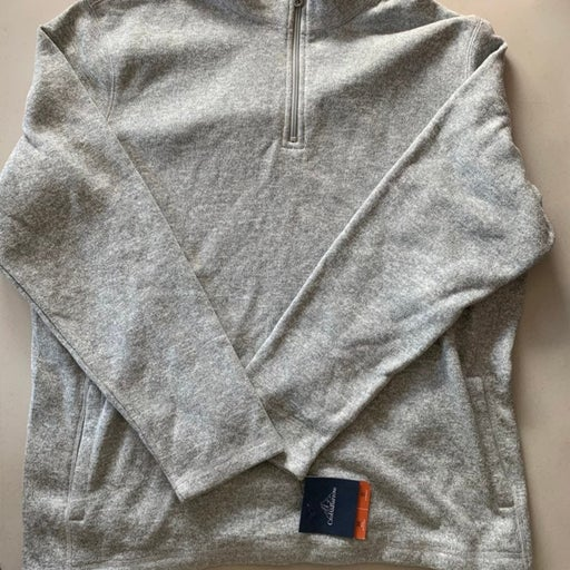 Croft & Barrow Men's Sweater Gray XL