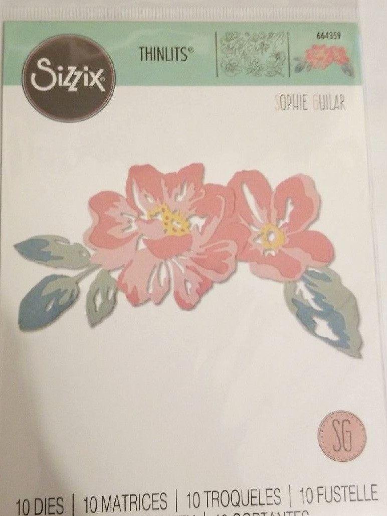 Sizzix Floral Layers die set