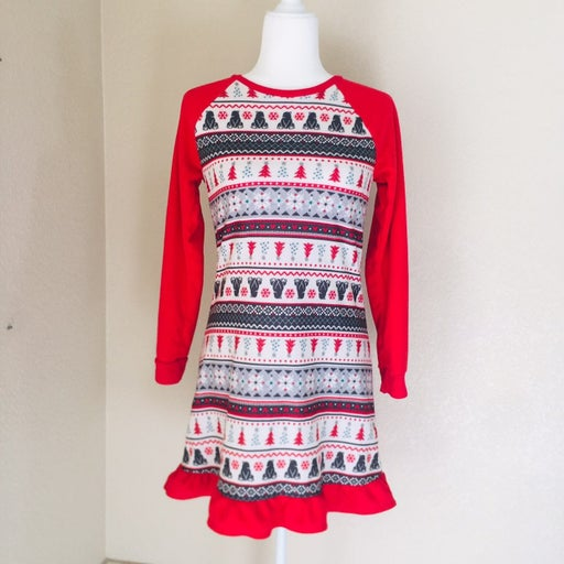 Ugly Christmas Girl's Nightgown Pajamas