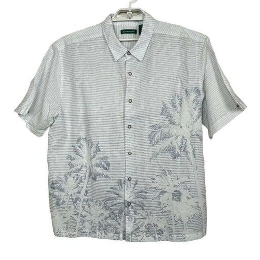 Cubavera Hawaiian Short Sleeve Shirt