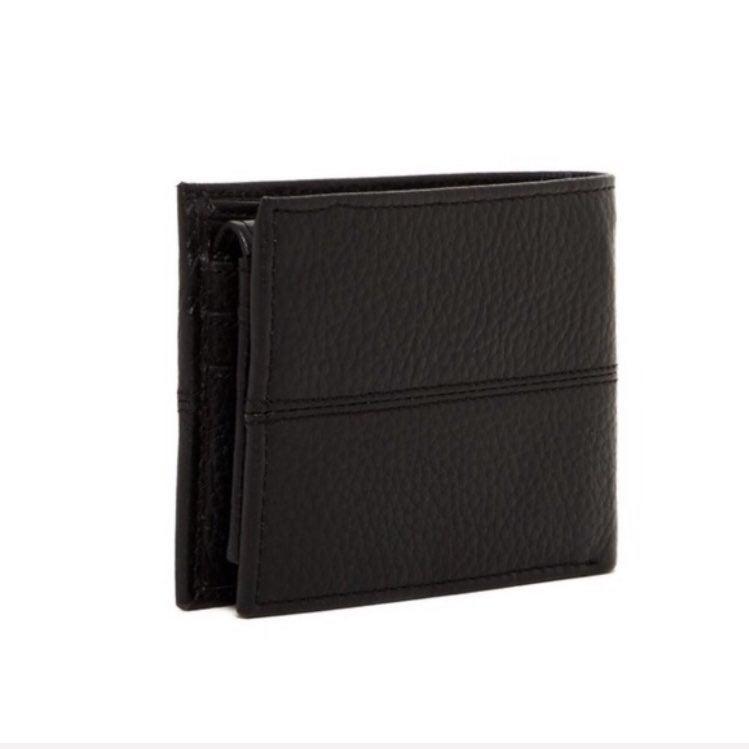 Cole Haan Pebble Leather Black Wallet