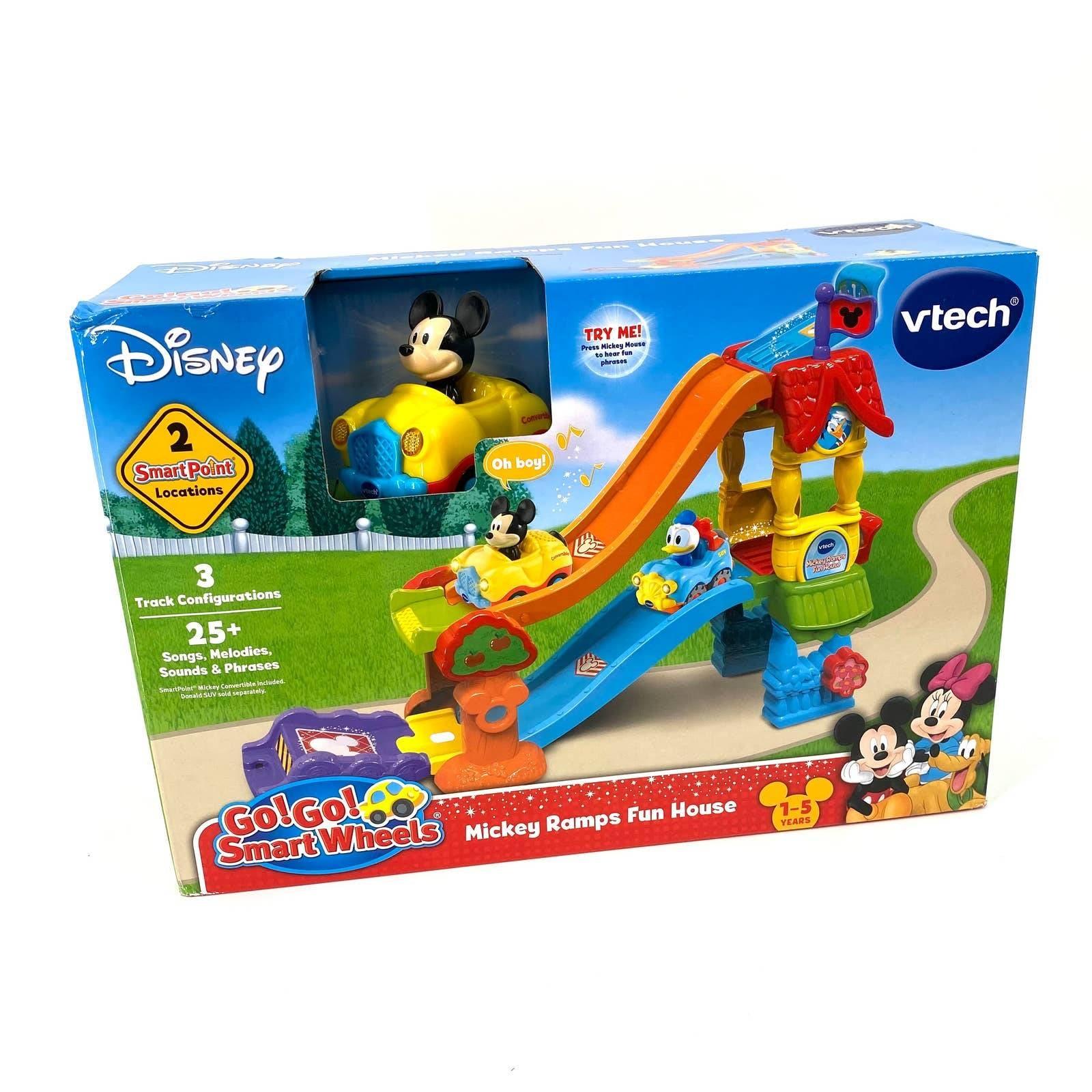 Disney Mickey Ramps Fun House 1-5 years