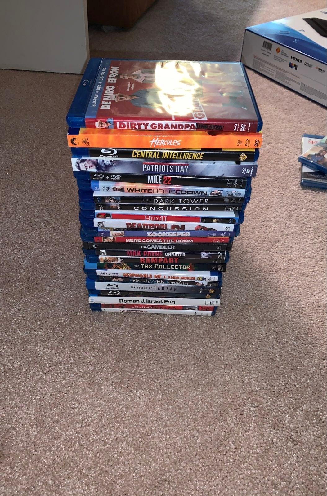 Blu ray lot