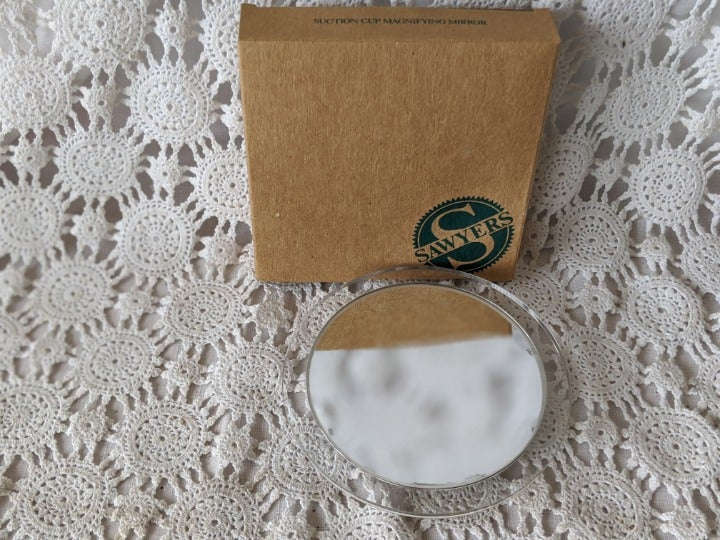 Avon Suction Cup Magnifying Mirror 1991