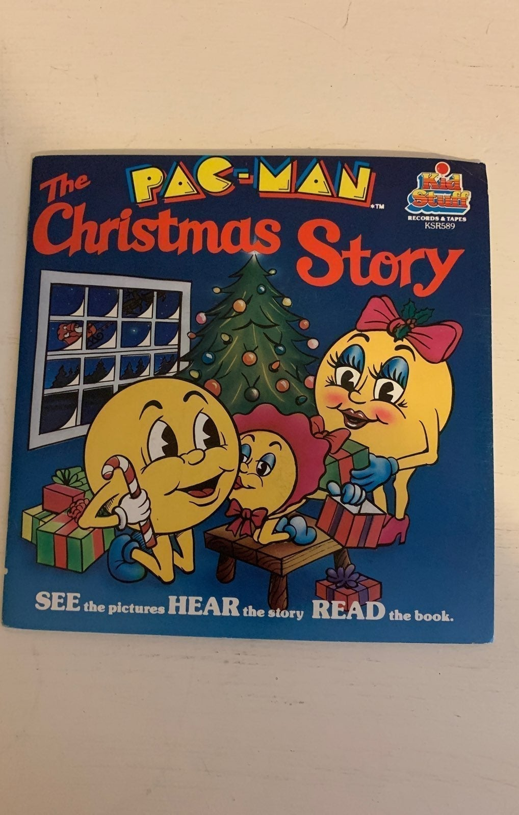 The Pac-Man Christmas Book & Record
