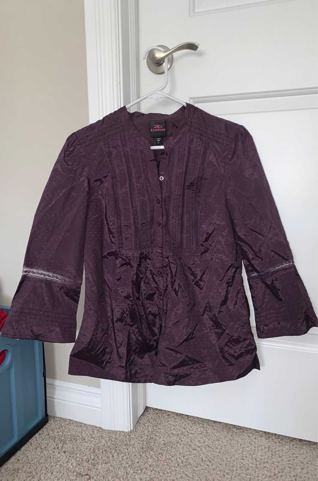 2B Bebe Top- Size Small