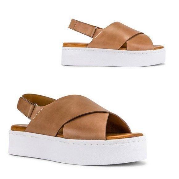 Tony Bianco Peach Flatform Sandal