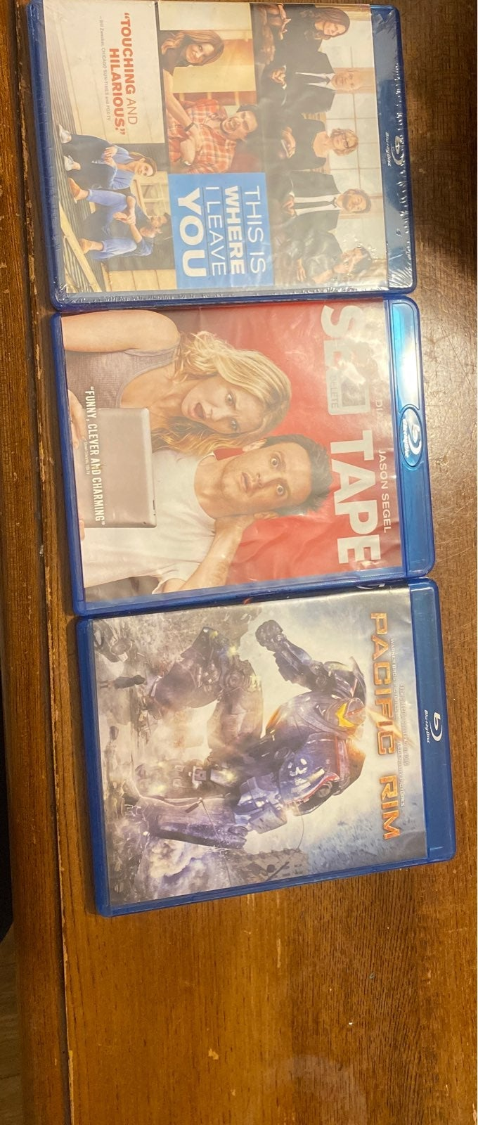 Lot of 4 Blueray disc movies
