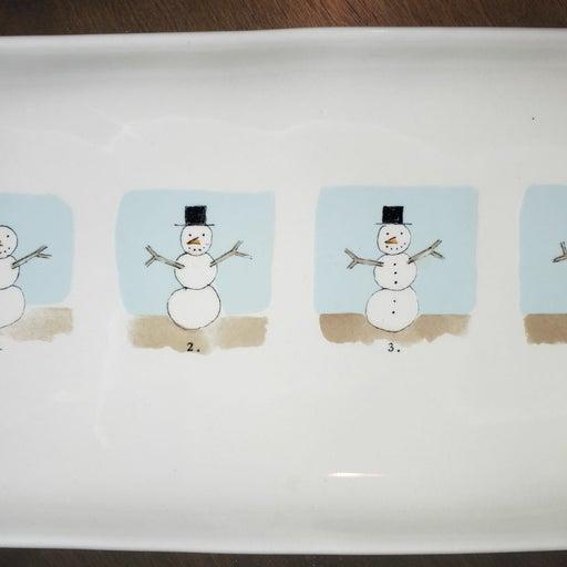 Rae Dunn christmas tray