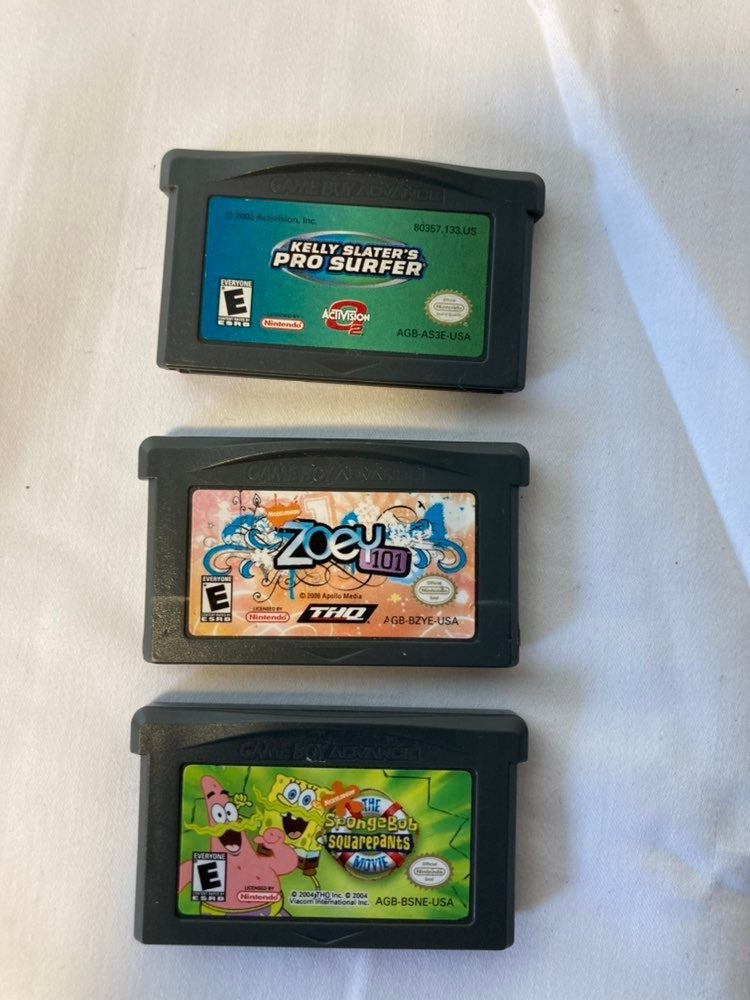 Nintendo gameboy advance games lot