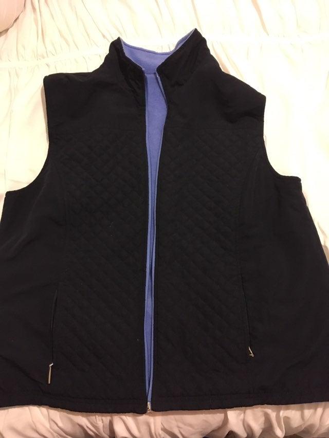 Women's Reversible Vest Size Petite XL