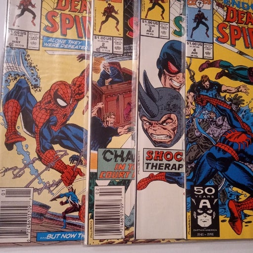 1991 The Deadly Foes of Spiderman