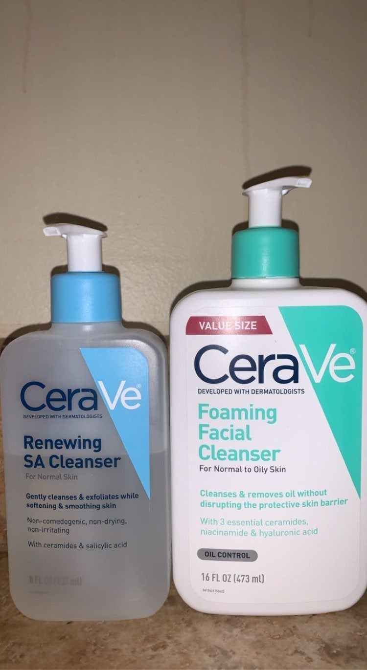 CeraVe Hydrating Facial Cleanser x2