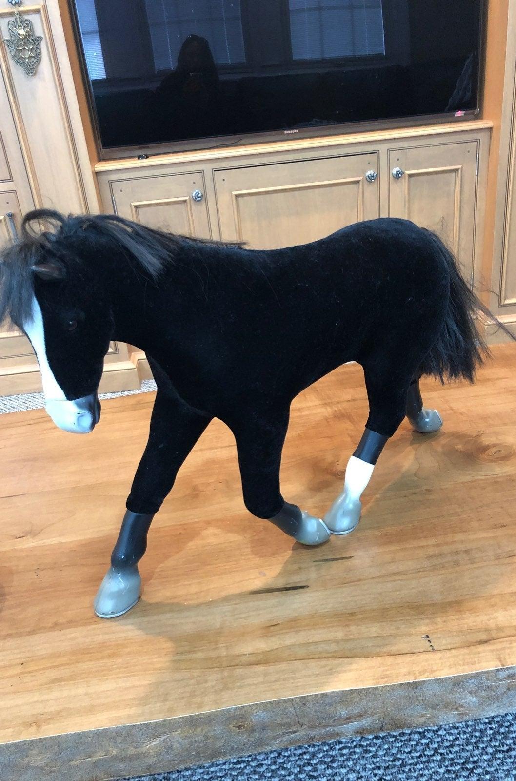 American Girl retired Black Velvet Horse