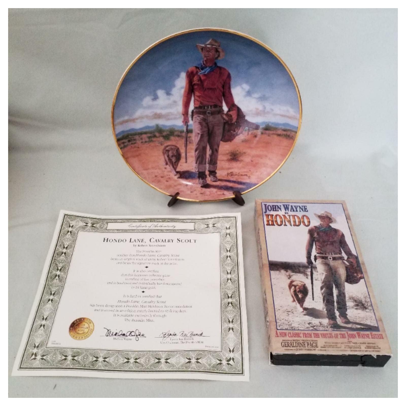 John Wayne/Hondo Lane Collector's Combo
