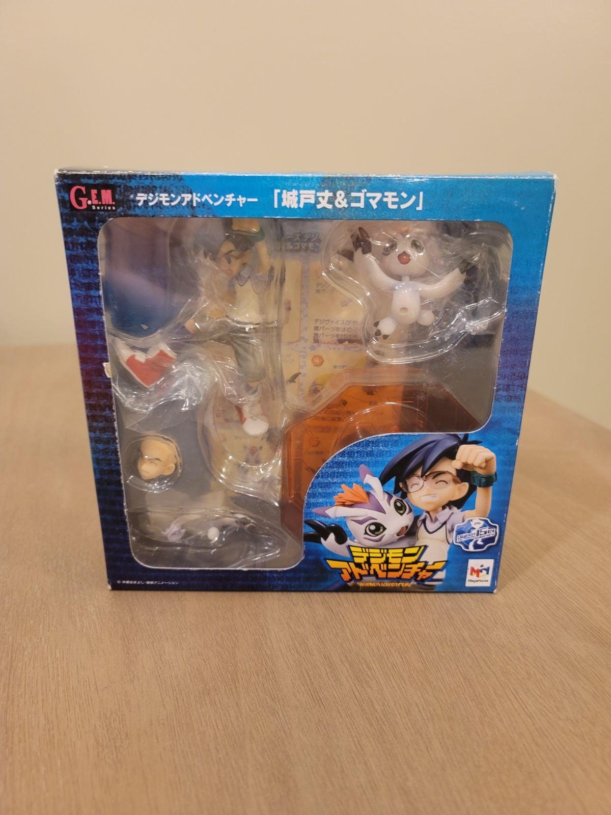 Digimon Adv. Joe Kido & Gomamon figure