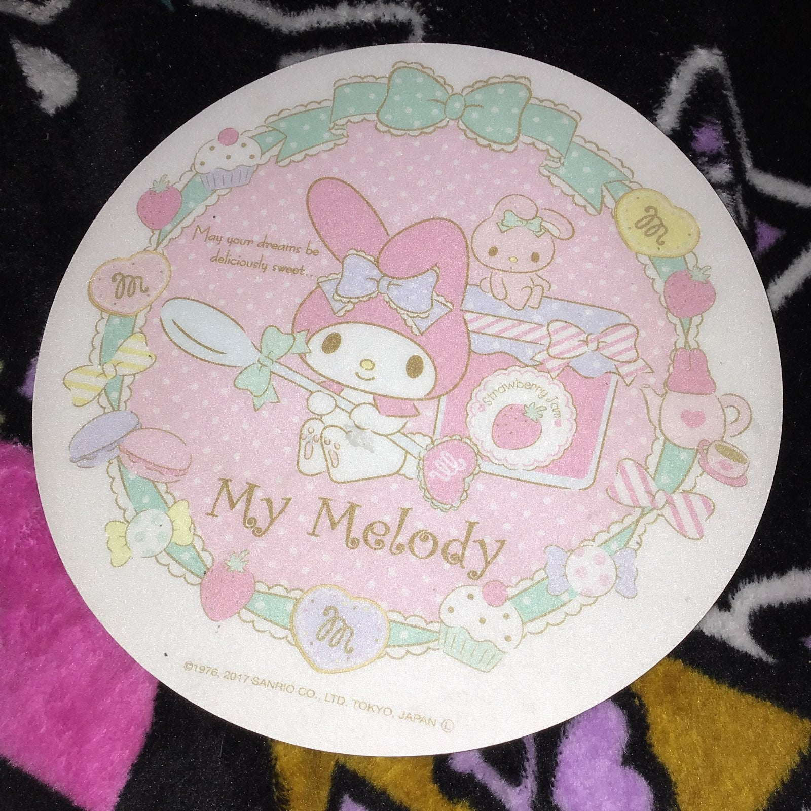 Sanrio my melody mouse pad